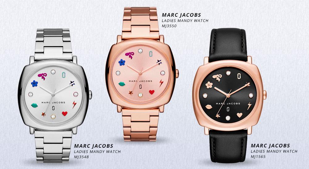 Marc Jacobs zegarki Mandy