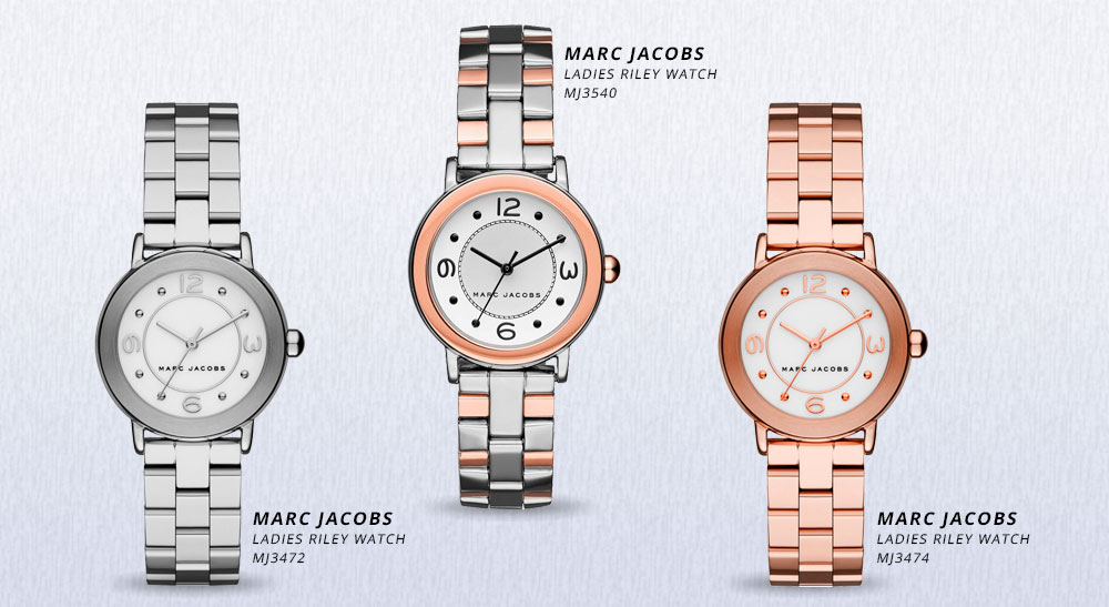 Marc Jacobs zegarki Riley
