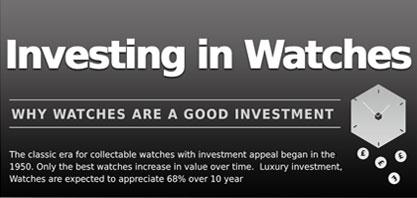 Inwestowanie w zegarkach